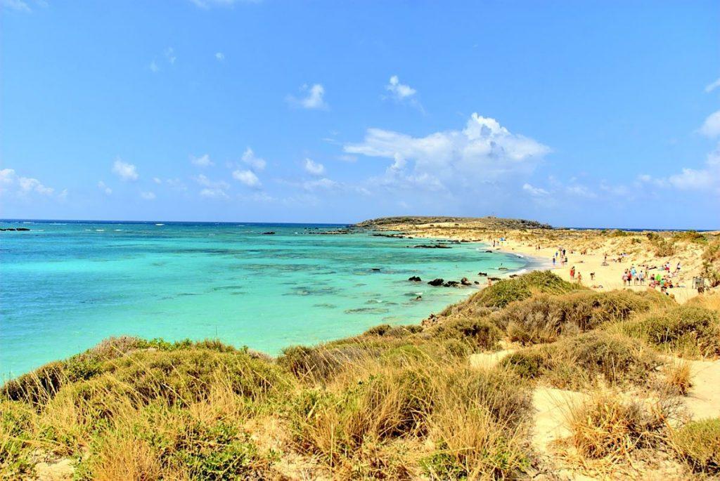 Elafonisi et Kedrodasos beach en Crète. Deux plages paradisiaques